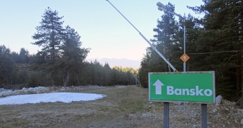 Bansko Ski Road snow conditions