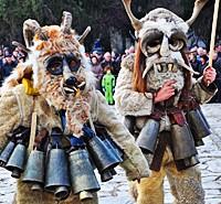 mummers carnival in razlog