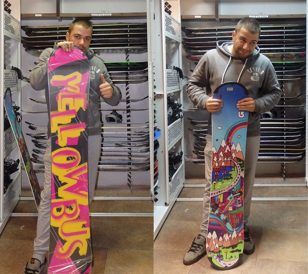 George from Traventuria shows you the right length snowboard to pick