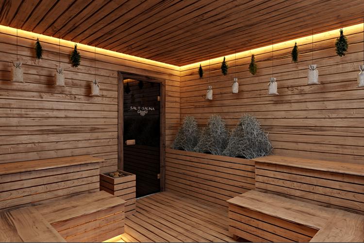 Salt Sauna at Roman Bath Spa