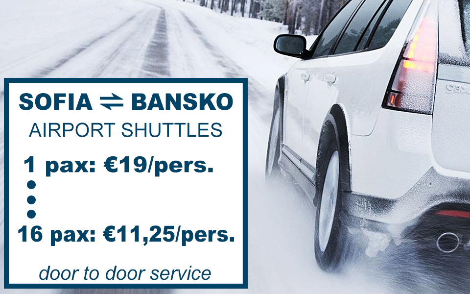 transfers to bansko from sofia and plovdiv