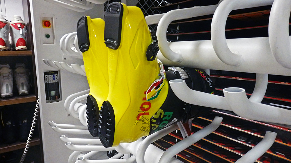 As of the 2016/17 winter season, Ski & Board Traventuria has 4 boot dryers available.