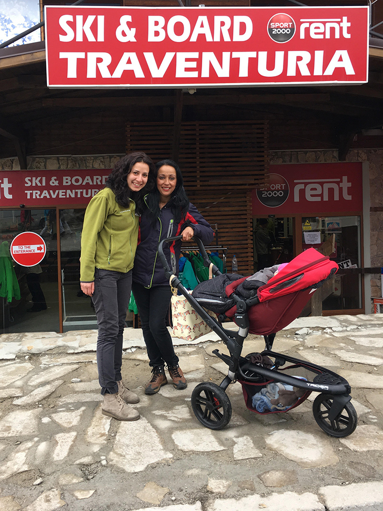 Vanesa (on the right) and Diana from Traventuria