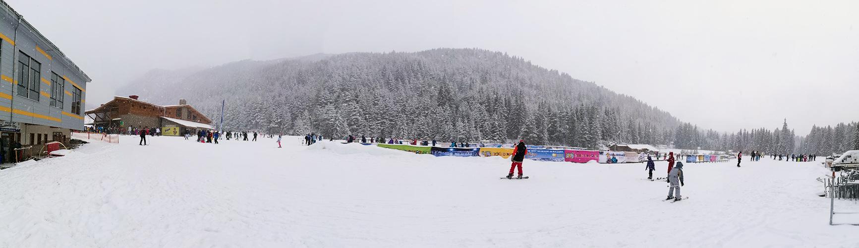 Beginning of the Ski Road