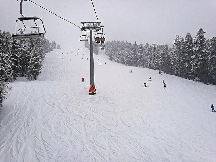 The N.5 Shiligarnik ski run.