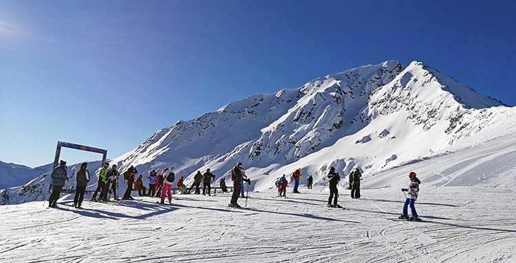 Mt. Todorka, situated just above the ski area.