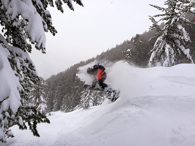 Plenty of powder days during the last week. Monday through Thursday to be exact.