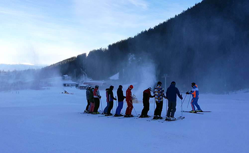 Ski School has already started for some.