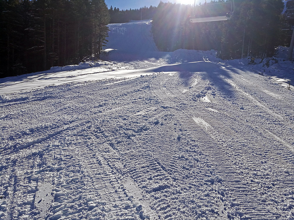 The fan favorite N.5 Shiligarnika ski run should open soon.