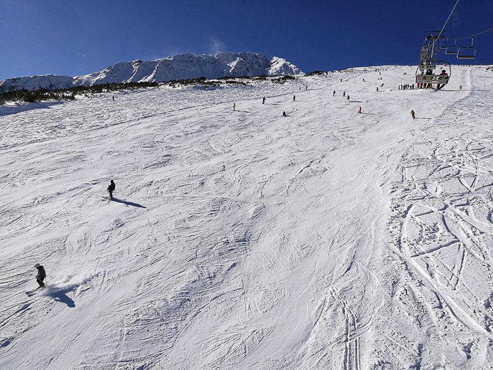 The Plato ski runs