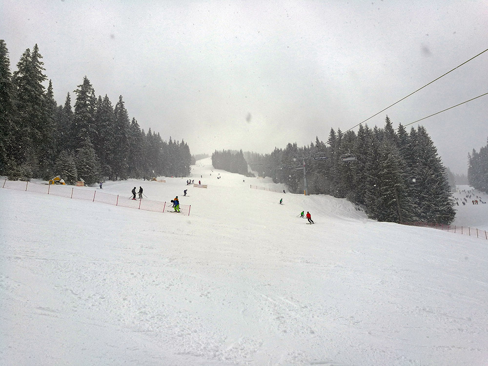 The Balkaniada Ski Run