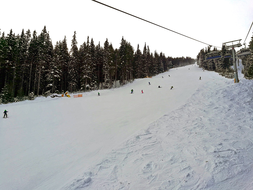 The Balkaniada ski run.