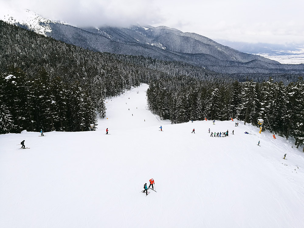 The N.5 Shiligarnika ski run.