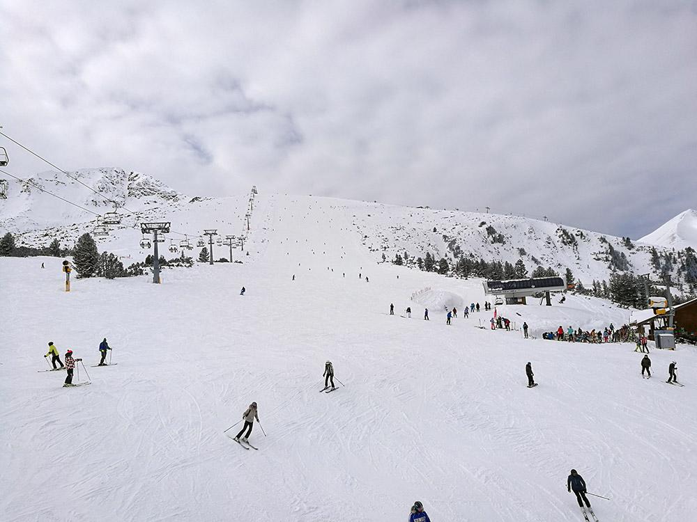 The Plato ski runs.