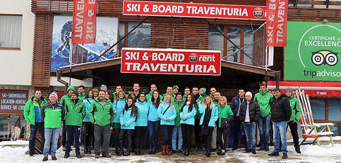 Ski & Board Traventuria Team Certificate of Excellence