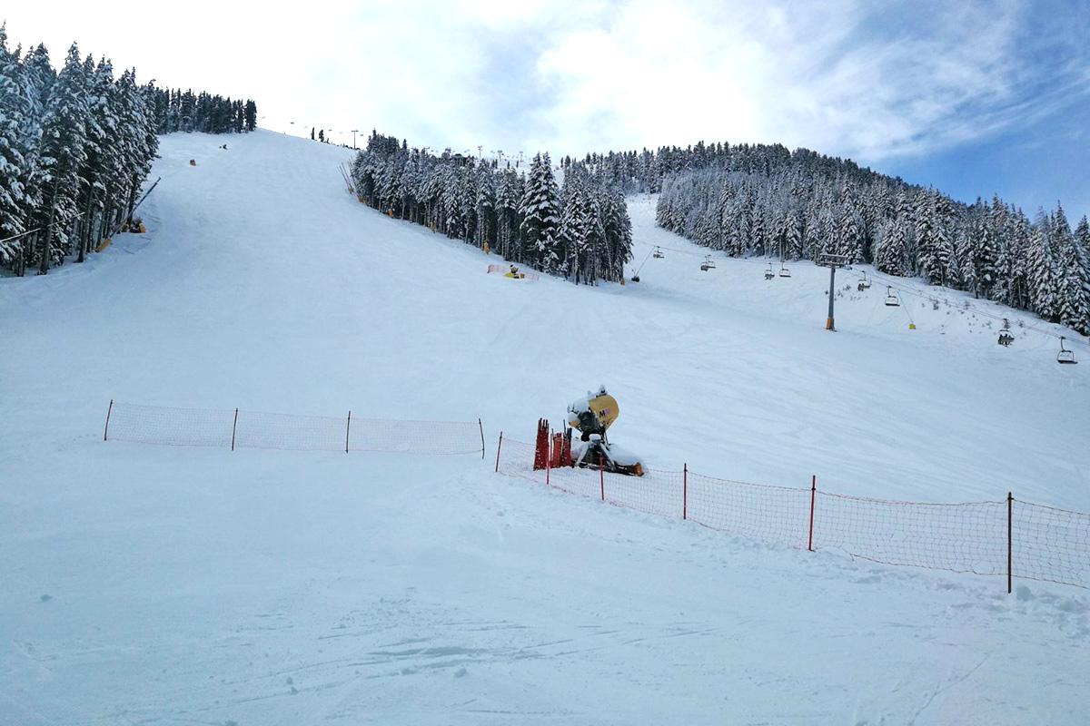 bansko slopes report 13/01/2021