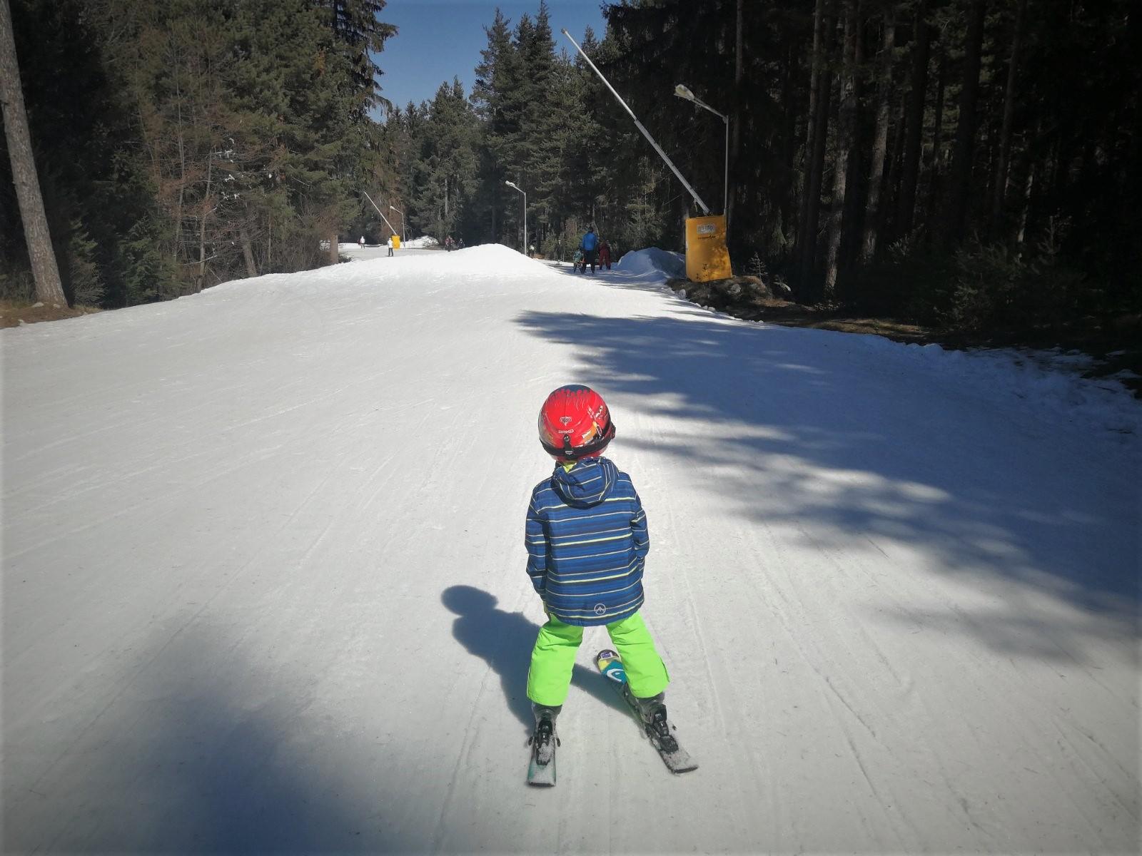 snow cover ski road