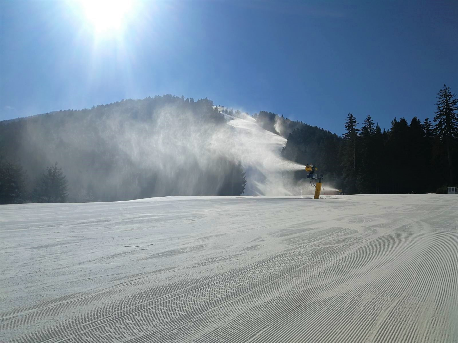 snow report from cannons