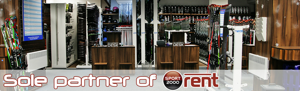 Ski and Board Traventuria, partner of SPORT 2000 rent in Bansko