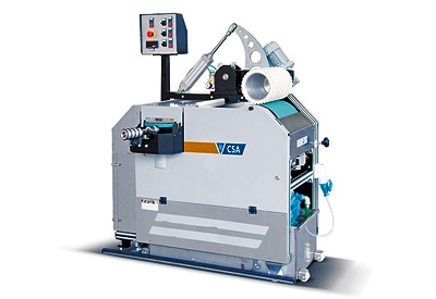 The belt grinding machine (produced by CSA in Switzerland), is a top notch addition to our workshop. Base and edge repairs are carried out before each rent.