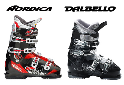 Get into a unique skiing experience and discover the innovative technologies in our ski boots collection, provided by Nordica and Dalbello.