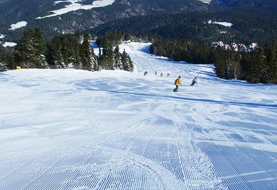 Popangelov ski run in Borovets resort